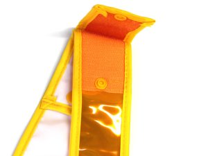 画像4: 夜光タスキ サイズ調整 発光帯 黄