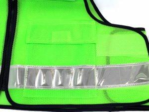 画像4: パトロールベスト 蛍光グリーン