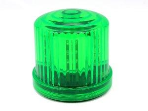 画像1: 【新型】 LED電池式回転・点滅灯 保安用 緑(グリーン)