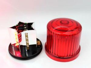 画像3: 【新型】 LED電池式回転・点滅灯 警備・保安用 黄(イエロー)