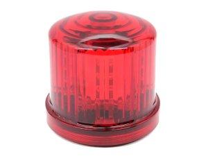 画像1: 【新型】 LED電池式回転・点滅灯 警備・保安用 赤(レッド)