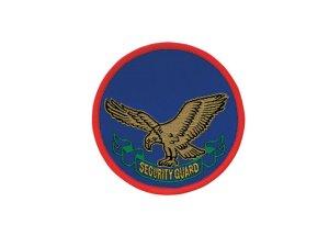画像1: 警備ワッペン C-2