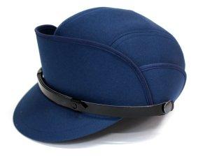 画像1: 機動帽 紺色