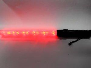画像2: 誘導灯・信号灯 55cm 赤・青 2色切り替え式 フック付き