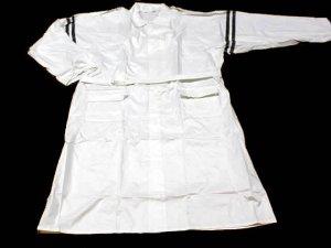 画像2: 警備 雨合羽  ロングコート式(ズボンなし) 背抜きメッシュ付 特大サイズ 6L〜8Lサイズ