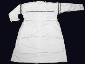画像3: 警備 雨合羽  ロングコート式(ズボンなし) 背抜きメッシュ付 特大サイズ 6L〜8Lサイズ
