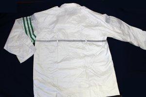 画像3: 警備 雨合羽 上衣 ズボン付 ロードセイフティ4550 背抜きメッシュ 背中反射材付き 【6Lまであります】