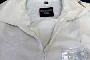 画像4: 警備 雨合羽 上衣 ズボン付 ロードセイフティ4550 背抜きメッシュ 背中反射材付き 【6Lまであります】