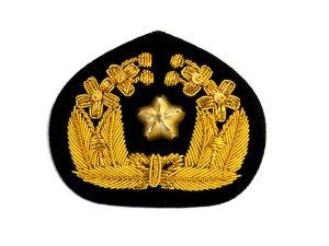 画像1: 帽章 金モール章