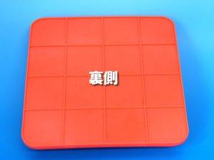 画像3: 伸縮式三角コーン 62cm オレンジ/イエロー