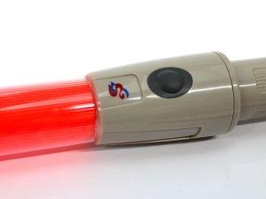 画像4: 誘導灯・信号灯 セフティライトS 56cm 赤色点滅 太いタイプ