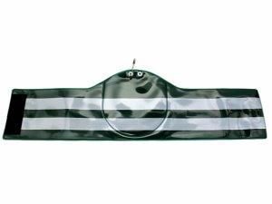 画像1: 交通腕章 ワッペンホルダー付(丸型)