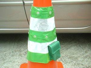 画像3: LEDコーンカバー 赤/青/緑