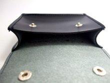 他の写真3: キーケース 黒・革  12x10cm
