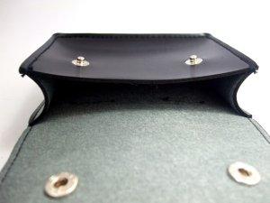 画像4: キーケース 黒・革  12x10cm