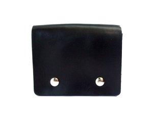 画像1: キーケース 黒・革  12x10cm