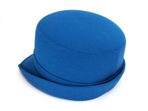 画像2: 女子ハイバック帽 ブルー 帽章付き
