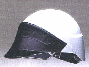 画像1: ヘルメット AG-05S 白