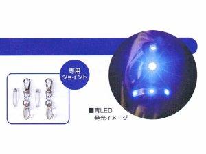 画像3: LEDアームバンド 紺xブルー反射 (2個セット) 青色LEDのみ