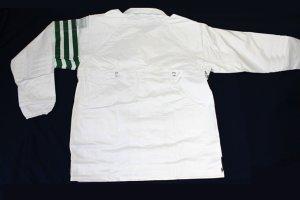 画像2: 警備 雨合羽 上衣 ズボン付 背抜きメッシュ 特大サイズ(6L〜8L)
