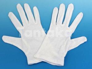 画像2: 綿白手袋 スムス