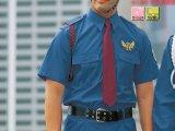 夏 警備用 G208半袖シャツ ブルーグレー