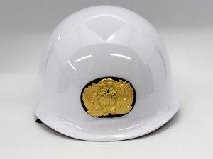 画像3: 帽章 交通指導員  ヘルメット貼り付け用