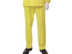 画像1: 列車見張用 黄色 ズボン