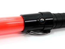他の写真1: 誘導灯・信号灯 52cm 赤色点滅 点灯切替式  フック付き(最安値)