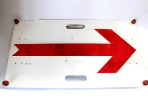 画像1: LED矢印板
