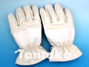 画像1: 夜光 防寒 白手袋 【厚手】