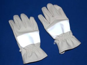 画像4: 夜光 防寒 白手袋 【厚手】