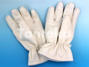 画像2: 夜光 防寒 白手袋 【厚手】