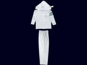 画像5: 警備 雨合羽 上衣 ズボン付 レインストーリー1535 塩化ビニール