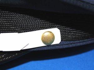 画像2: 制帽用 耳ボタン 梨金