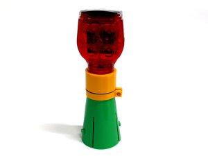 画像1: 工事用 平型ソーラー工事灯