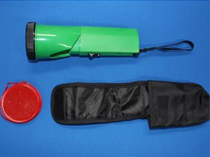 画像3: 充電式LEDニッケルライト(列車見張り用赤色フィルター付き)