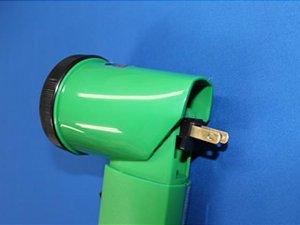 画像5: 充電式LEDニッケルライト(列車見張り用赤色フィルター付き)