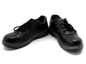 画像2: 安全短靴(反射付) ひも結び式