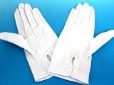 ナイロン 裏起毛 白手袋