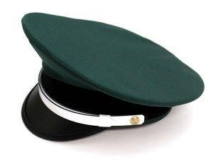 画像1: 制帽 冬 グリーン