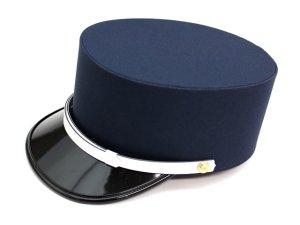 画像1: ドゴール帽 紺色(取り寄せ品)