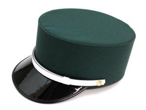 画像1: ドゴール帽 グリーン色(取り寄せ品)