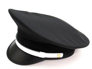 画像1: 制帽 冬 黒