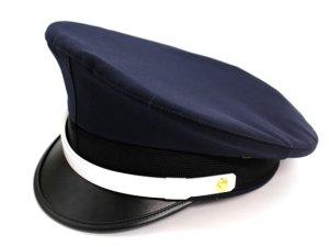 画像1: 制帽 冬 濃紺色 【在庫品】