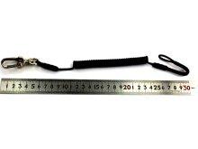 他の写真1: 【新製品】 鍵ひも (コイル式) 先端SN3ナスカン 1個付き 28cm〜100cm