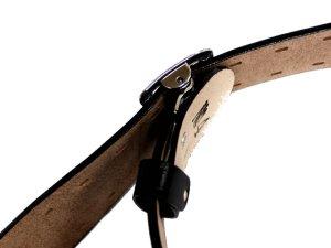 画像4: 一枚革帯革(たいかく) 50mm幅 白・黒 つめ金具バックルひっかけ式