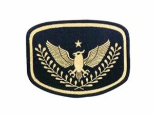 画像1: 警備ワッペン 織マーク