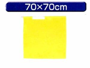 画像1: 手旗 黄 70X70cm 旗のみ
