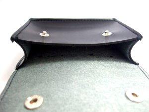 画像4: キーケース クラリーノ 黒 13x10cm